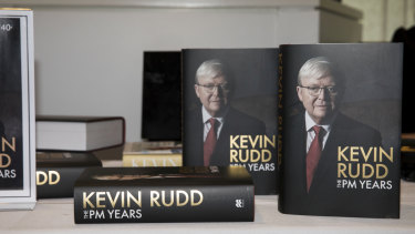The PM Years, by Kevin Rudd. Macmillan. $44.99.