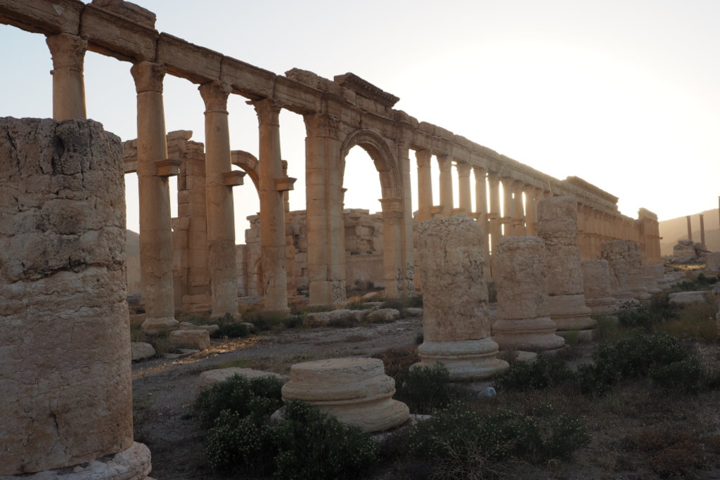 Palmyra: has this ancient city suffered a fatal blow, or will it rise again?; Chris Ray; SMH