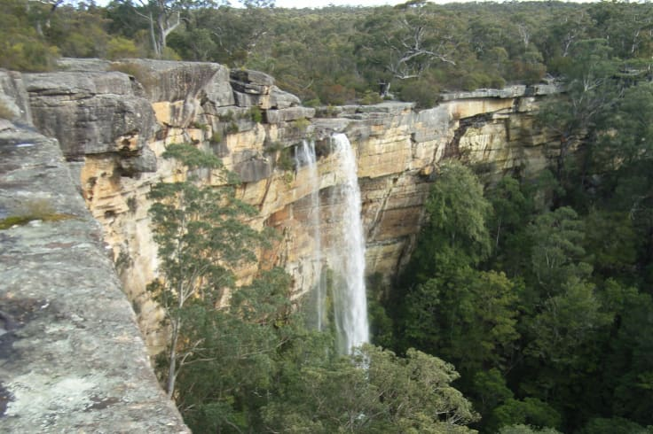 Tianjara Falls, a must-see for modern-day travellers on the old Wool Road.