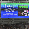 Refs 'training' with VAR for Women's World Cup