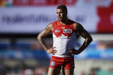 Lance Franklin is a player of high interest to Amazon for the series.