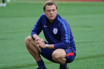Former US assistant coach Tony Gustavsson is set to be appointed as Matildas coach.