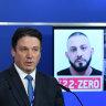 Luxury car found in manhunt for Ricardo Barbaro