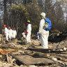 Risk of mudslides as rain forecast for fire-ravaged California