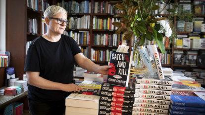 Amazon backs down but brick-and-mortar shops still sell MeToo book