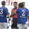 Schalke player shows US protests support