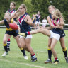 AFL launches private girls' school comp as female participation jumps