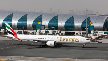 Emirates says the test results will be available in just 10 minutes.