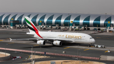 Emirates said earlier this month that it will raise debt to help itself through the coronavirus pandemic, and may have to take tougher measures as it faces the most difficult months in its history.