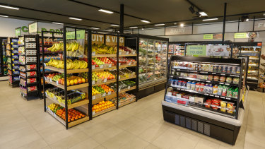 The new Caltex Woolworths store in North Ryde, Sydney.