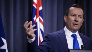 WA Premier Mark McGowan has announced border transitions will change from next week.
