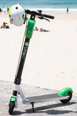 The scooter that Lime expects to see popping up in Sydney.
