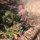 The Spider-Man suit planted by police in the bushland at Kendall. It was used as a surveillance tool.