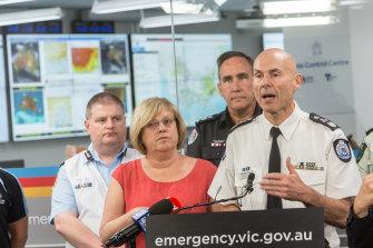 Emergency Management Commissioner, Andrew Crisp