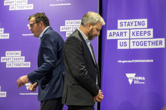 Can Premier Daniel Andrews and Chief Health Officer Brett Sutton help ease Melbourne off COVID-19 restrictions?