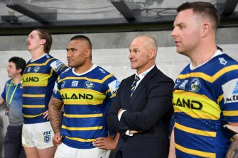 Brad Arthur has been given a one-year extension as coach of the Eels.