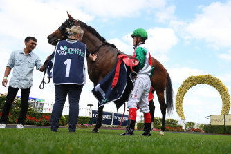 Richard Litt's Castelvecchio is the favourite for the Australian Derby at Randwick on Saturday.