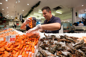 The Sydney Fish Market is open longer than usual on Good Friday.