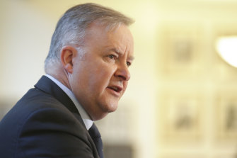 Federal Opposition Leader Anthony Albanese.