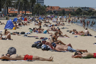 Thousands are expected in St Kilda on Australia Day.