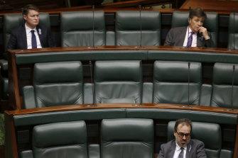 Victorian Parliament - suspended.