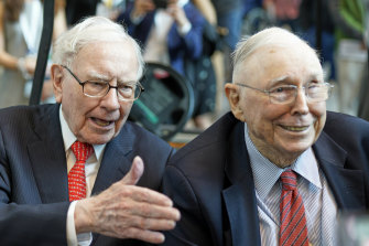 Succession questions have long loomed over Berkshire, which counts 90-year-old Buffett and 97-year-old Charlie Munger as its top executives.