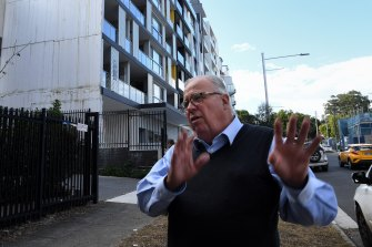 NSW Building Commissioner David Chandler has convinced the state government to give him the powers to clean up the industry.