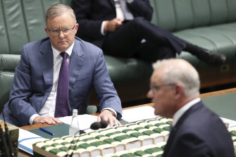 Albanese desperately needs a fight. After a year as a responsible and constructive Opposition Leader helping the Morrison government manage the pandemic, he was almost invisible.