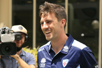 Pat Cummins made  his debut as NSW captain on Monday.