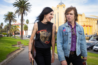 Adalita, of Magic Dirt, and Ash Naylor from the Church, will be performing shows at this month's April Sun concerts in St Kilda.