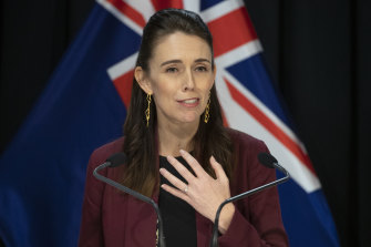 Prime Minister Jacinda Ardern says the country has eliminated community transmission of COVID-19.