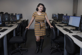 """That was when I knew I absolutely wanted to do this"": a University of Sydney computer science summer program opened new horizons for Kelly Stewart."