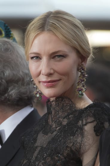 CateBlanchett surprisingly got a Cannes gong too - for being a good jury president.