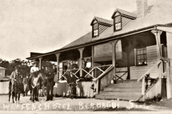 A pub has been operating on the site of the Bermagui Beach Hotel since 1895 under various names including Whiffens Hotel.