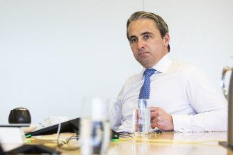 Commonwealth Bank CEO Matt Comyn.