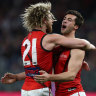 Bombers book finals berth with big win over Dockers