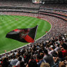 Allowing 100 per cent capacity for Anzac Day is still an option.