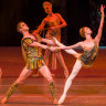 Ballerina steals show in male-dominated Spartacus