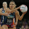 Vixens shoot to top of Super Netball ladder after toppling the Giants