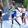 Born without legs, sprinter leaves US championship field behind him