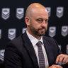 'No regrets': Greenberg plans to remain NRL's 'biggest fan'