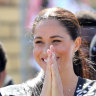 Why Meghan ditched her engagement ring in Africa