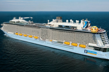 satoct12asia TRAVELLER  Caroline Gladstone Royal Caribbean Spectrum of the Seas pic supplied by journalist please check for reuse