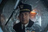 Hanks plays Commander Ernest Krause in Apple TV+ film Greyhound.
