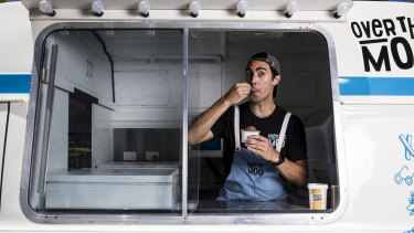 Alex Houseman is the founder of Over The Moo ice-cream.