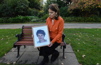 Gone too soon: Loretta Gabriel says her son's life could have been saved if he had access to a safe injecting facility.