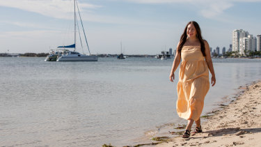 Classic Queenslander: Ariana Margetts says you simply can't beat the Gold Coast lifestyle.