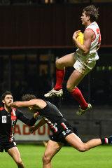 Jack Boyd's astonishing grab in the VFL won't soon be forgotten.