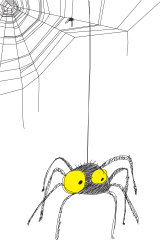 'If there's one thing reading Charlotte's Web taught me, it's this: befriending a spider accrues benefits. Pidey, though, is no Charlotte and I no Wilbur.'
