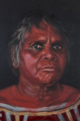 'Tjuparntarri – women's business' by David Darcy has won the People's Choice award in this year's Archibald prize.